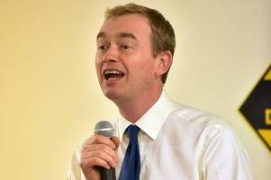 'tim farron was hounded for his religious views,' say gloucestershire liberal democrats as leader departs
