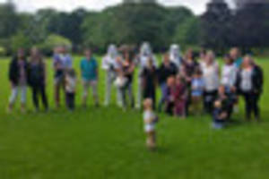 active parents tiverton support children's centre with fundraisin...
