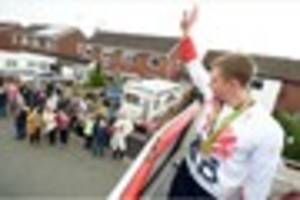 Olympic gold medallist Adam Peaty's Uttoxeter family home...