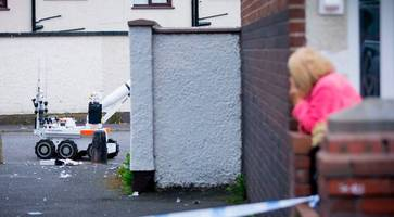 suspicious device left close to belfast police station