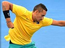 nick kyrgios: some days i don't want to to play tennis