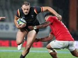 tonga 6-24 wales: alex cuthbert scores fine solo try