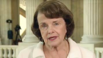 Sen. Feinstein Says President Trump is in 'Violation of the President's Oath of Office'