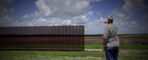 Trump Admin Reportedly Will Unveil Final Designs For 'Big Beautiful' Border Wall