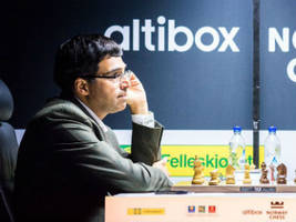 altibiox norway chess; viswanathan anand draws with levon aronian