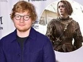 ed sheeran dishes the dirt on chilly game of thrones cameo