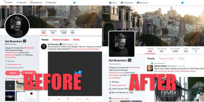 Hate Twitter's bubbly's redesign? This extension gets rid of it