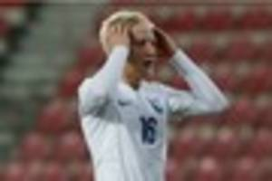 will hughes and jonathan mitchell on the bench for england...