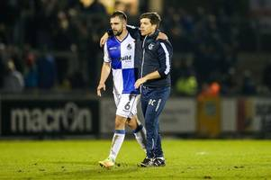 bristol rovers' hartley joins blackpool on two-year deal