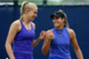 jocelyn rae and laura robson through to doubles semi-finals at...