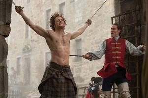 cult tv hit outlander - which was filmed near stirling - is now coming to british tv