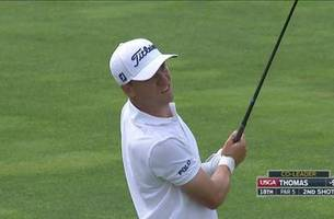 WATCH: Justin Thomas has a historic round at the U.S. Open