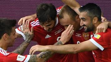 Hosts Russia win Confederations Cup opener