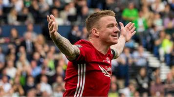 jonny hayes: celtic signing in scoring action for aberdeen
