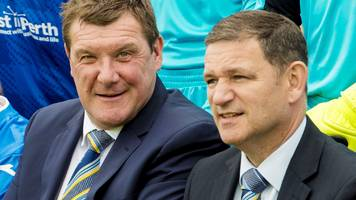 tommy wright: manager happy to lead st johnstone into new season