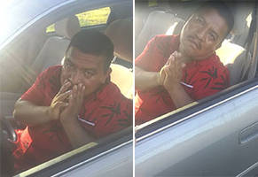 Instead Of Calling The Police On A Drunk Driver This Man Handles The Situation Himself
