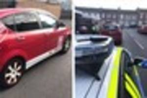 Derby driver had toddler in the back of car WITHOUT seat belt