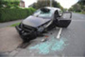 Driver tests positive for cocaine after smashing car into tree in...
