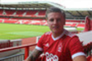 nottingham forest boss mark warburton a big draw for new signing...