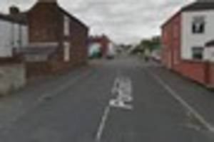 Police arrest two and seize knife and metal bars following mass...