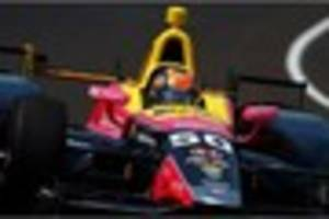 jack harvey - my first indy 500 drive and having formula 1 legend...