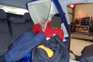 wells man caught trying to smuggle a man into the uk inside a suitcase