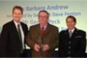 Man, 70, who helps and educates others with Staffordshire Police,...