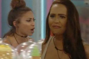 Big Brother's Kayleigh Morris threatens to smash Chanelle McCleary's face in before being REMOVED from house in explosive scenes