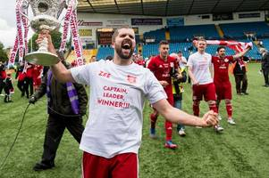 glenafton skipper craig menzies reflects on 'crazy' double - and targets dream scottish cup clash with rangers