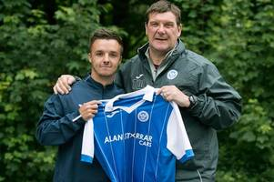 st johnstone sign stefan scougall on a two year deal