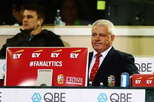 the full transcript of gatland's spectacular press conference as he comes out swinging at hansen, eddie jones and critics