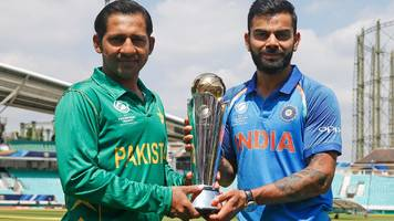 India and Pakistan set to meet in ICC Champions Trophy final