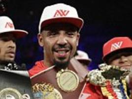 Andre Ward considering huge fight with Anthony Joshua