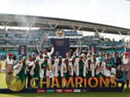 pakistan champions trophy win is for the fans: hafeez