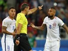 video referee comes under scrutiny at confederations cup