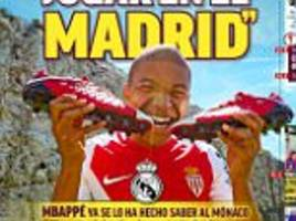 kylian mbappe 'only wants to play for real madrid'