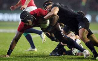 lions crank up mind games prior to first test with all blacks