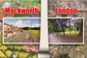 mackworth estate streets are named after london roads,  so how do...