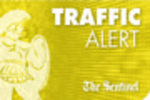 Traffic:  Accidents on A500, A34, in Fenton and in Staffordshire...