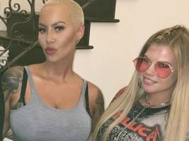 """amber rose won't stop trolling & """"pissing people off on purpose"""" [video]"""
