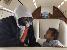 Kim Kardashian Shares Priceless Kanye West Pics W/ North & Saint West