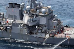 drowned in their bunks horror as bodies of seven missing sailors found aboard us navy crash ship