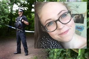 man arrested on suspicion of murder after body of missing 18-year-old girl is found in water park