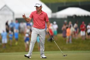 us open leader brian harman says chip on his shoulder will drive him to victory at erin hills