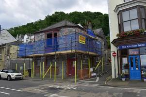 historic mumbles pub the antelope could be turned into a wine bar, restaurant and tea room