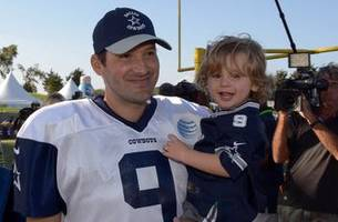 happy father's day! sports dads with their kids