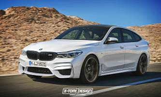 BMW M6 Gran Turismo Rendering is Like a Tesla With a Body Kit