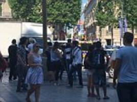 Champs-Elysees on lockdown amid police security alert