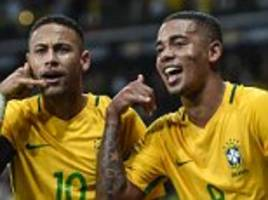 neymar and gabriel jesus can't win world cup on own, pele