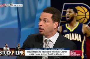 Cavs replacing Kevin Love with Paul George -  Is it a threat to the Warriors? | SPEAK FOR YOURSELF